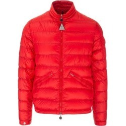 Logo Puffer - Red - Moncler Jackets found on Bargain Bro from lyst.com for USD $726.56