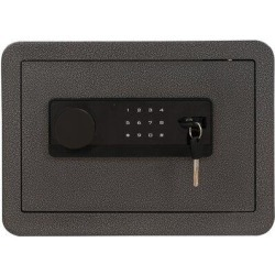 Kozart 0.95 Cubic Feet Home Office Digital Security Safe Box Double Safety Key Lock in Black, Size 9.84 H x 13.78 W x 9.84 D in | Wayfair found on Bargain Bro Philippines from Wayfair for $126.99