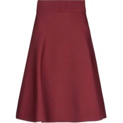 Knee Length Skirt - Red - Dorothee Schumacher Skirts found on Bargain Bro Philippines from lyst.com for $200.00