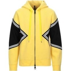 Neil Barrett Mens Modernist Hoodie Jacket X-Large Yellow / White / Black (XL), Men's found on MODAPINS from Overstock for USD $305.20