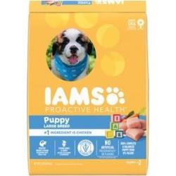 Iams ProActive Health Smart Puppy Large Breed Dry Dog Food, 15-lb bag