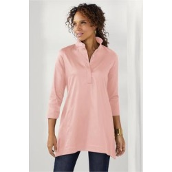 Women's Portia Tunic Top by Soft Surroundings, in Blush size XS (2-4)