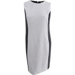 Calvin Klein Women's Dot-Print Colorblocked Sheath Dress (14P, Cream/Black) - 14P (Cream/Black - 14P)(nylon) found on Bargain Bro Philippines from Overstock for $58.49