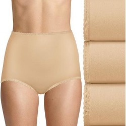 Bali Skimp Skamp 3-Pack Brief Panty DFA633, Women's, Size: 7, Lt Beige found on Bargain Bro from Kohl's for USD $19.76