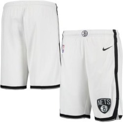 Brooklyn Nets Nike Youth 2020/21 Swingman Shorts - Association Edition – White found on Bargain Bro Philippines from Fanatics for $44.99