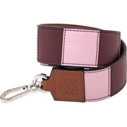 Striped Leather Bag Strap - Pink - Loewe Belts found on MODAPINS from lyst.com for USD $449.00