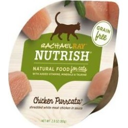Rachael Ray Nutrish Chicken Purrcata Natural Grain-Free Wet Cat Food, 2.8 oz, case of 12 found on Bargain Bro Philippines from Chewy.com for $12.59