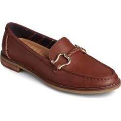 Sperry Top-Sider Women's Loafers TAN - Tan Seaport Penny Plushwave Shackle-Accent Leather Loafer - Women found on Bargain Bro from zulily.com for USD $37.71