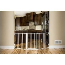 Regalo Flexi Extra Wide Configurable Walk-Through Gate, 30-in found on Bargain Bro India from Chewy.com for $64.99