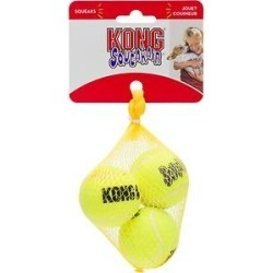 KONG Squeakair Balls Packs Dog Toy, Small found on Bargain Bro India from Chewy.com for $4.49