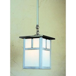 Arroyo Craftsman Mission 6 Inch Mini Pendant - MSH-6T-RM-VP found on Bargain Bro from Capitol Lighting for USD $176.32
