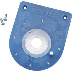 Rockler Mid-Size Router Insert Plate Kit, Model 55512 found on Bargain Bro from northerntool.com for USD $22.79