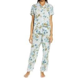 Bridgette Pajamas - Blue - Nordstrom Nightwear found on Bargain Bro from lyst.com for USD $52.44