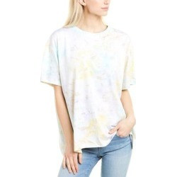 French Connection Yasha Tie-Dye T-Shirt (8), Women's, White(cotton) found on MODAPINS from Overstock for USD $20.99