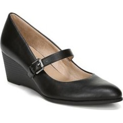 Women's Goldie Dress Shoes by Naturalizer in Black Smooth (Size 8 1/2 M) found on Bargain Bro from fullbeauty for USD $45.59