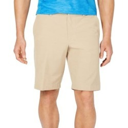 Tommy Hilfiger Mens Chino Shorts Khaki Beige Size 35 Flat Front Stretch (35), Men's(cotton) found on Bargain Bro from Overstock for USD $39.66