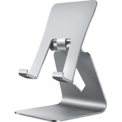Shou Silver - Silver Foldable Phone/Tablet Holder found on Bargain Bro India from zulily.com for $12.99