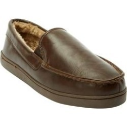 Extra Wide Width Romeo Slippers by KingSize in Brown (Size 10 EW) found on Bargain Bro Philippines from Brylane Home for $53.99