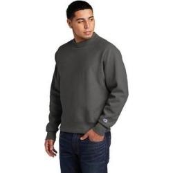 Champion Men's Reverse Weave Fleece Crewneck Sweatshirt (3XL - New Railroad), Gray found on Bargain Bro Philippines from Overstock for $53.49