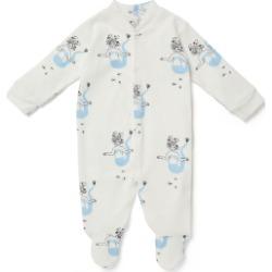 Sleepy Doe - Baby Sleepsuit In Mermaids - 0-3 Months