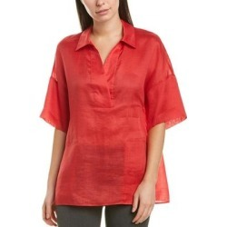 Lafayette 148 New York Mitra Blouse (ROUGE-ROUGE - 0), Women's, Pink found on Bargain Bro Philippines from Overstock for $50.59