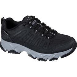 Skechers Men's Sneakers BKGY - Black & Gray Relaxed-Fit Crossbar Stilholt Sneaker - Men found on Bargain Bro India from zulily.com for $59.99
