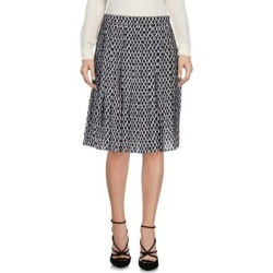Knee Length Skirt - Black - Saucony Skirts found on Bargain Bro from lyst.com for USD $80.56
