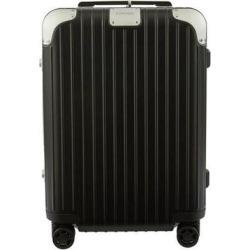 Hybrid Cabin S luggage - Black - Rimowa Luggage found on Bargain Bro from lyst.com for USD $592.80