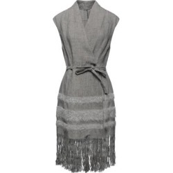 Overcoat - Gray - Masnada Coats found on MODAPINS from lyst.com for USD $650.00