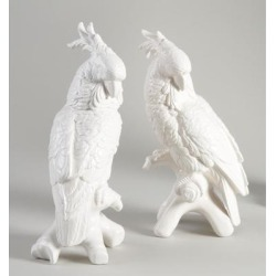 Chelsea House LG COCKATOOS-PAIR Figurine - 380755 found on Bargain Bro Philippines from Capitol Lighting for $296.70