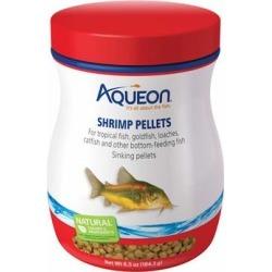 Aqueon Shrimp Pellets Fish Food, 6.5 oz.