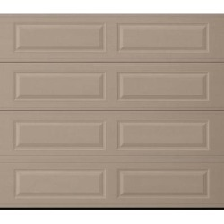 Amarr Lincoln Traditional Garage Door - Long Panel Design- Sandtone 8 x 7 No Windows found on Bargain Bro from samsclub.com for USD $611.80