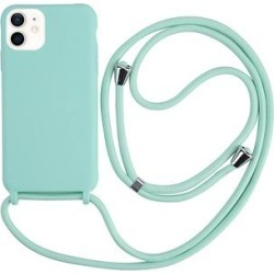 Tech Zebra Cellular Phone Cases Teal - Teal Protective Lanyard Phone Case for iPhone 12 found on Bargain Bro India from zulily.com for $12.99