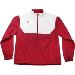 Asics Boys Boys Upsurge Jacket Athletic Outerwear Jacket (L), Boy's, Red found on MODAPINS from Overstock for USD $17.04