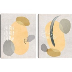Modego I & II by Studio Arts Set of 2 Canvas Art Prints found on Bargain Bro Philippines from Overstock for $98.99