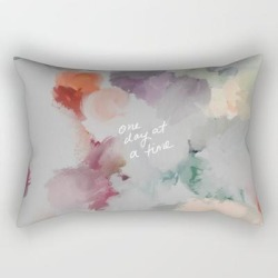Rectangular Pillow | One Day At A Time by Morgan Harper Nichols - Small (17