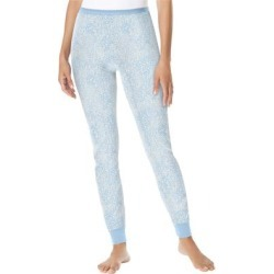 Plus Size Women's Thermal Lounge Pant by Comfort Choice in Pastel Blue Animal (Size 2X) found on Bargain Bro Philippines from Ellos for $14.99