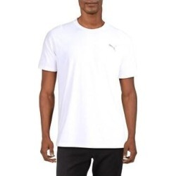 Puma Mens T-Shirt Fitness Running (Puma White - M), Men's(polyester) found on Bargain Bro from Overstock for USD $13.29