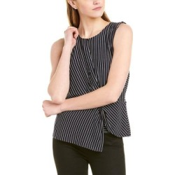 Vince Camuto Linear Moments Top (12), Women's, Blue(viscose) found on Bargain Bro India from Overstock for $18.13