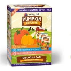 Weruva Pumpkin Patch Up! Pumpkin Pumpkin, What's Your Function? Variety Pack Dog & Cat Wet Food Supplement, 1.05-oz pouch, case of 12