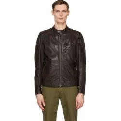 Brown Leather Racer 2.0 Jacket - Brown - Belstaff Jackets found on MODAPINS from lyst.com for USD $950.00