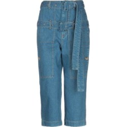 Denim Capris - Blue - Lanvin Jeans found on MODAPINS from lyst.com for USD $552.00