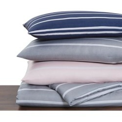 Porch & Den Sorrento Striped 3-piece Comforter Set found on Bargain Bro from Overstock for USD $49.77