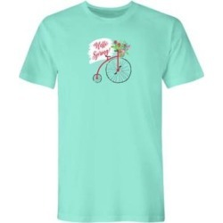 Women's Plus Graphic Tee – Spring, Celedon/Spring 3XL found on Bargain Bro from Blair.com for USD $19.75
