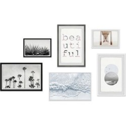 Marmont Hill - Handmade Beautiful Ambitions Hexaptych Wall Art - Multi-color found on Bargain Bro Philippines from Overstock for $503.99