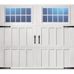 Classica 3000 Northampton Garage Door - White 8 x 7 Madeira Window found on Bargain Bro from samsclub.com for USD $1,314.04