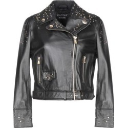 Jacket - Black - Boutique Moschino Jackets found on MODAPINS from lyst.com for USD $729.00