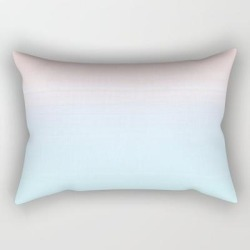 Rectangular Pillow | Cotton Candy Ombre by Matte & Marble - Small (17