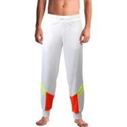 Puma Mens Iconic Jogger Pants Sweatpants Fitness (Puma White - L), Men's(cotton) found on Bargain Bro from Overstock for USD $12.19
