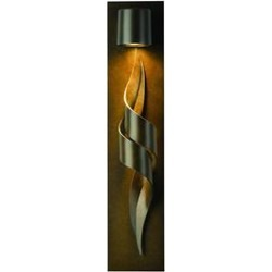 Hubbardton Forge Flux 23 Inch Tall 1 Light Outdoor Wall Light - 303090-1007 found on Bargain Bro from Capitol Lighting for USD $610.28